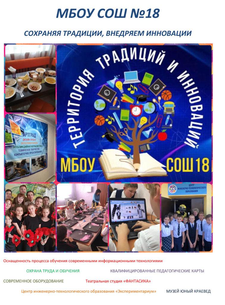 БРЕНДИРОВАНИЕ СОШ 18-1